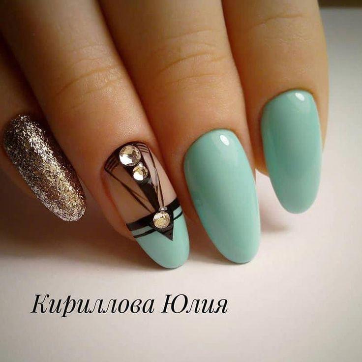 Spring Nails #elegantnails