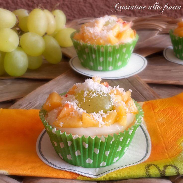 Crostatine alla frutta, ricetta dessert | Il mondo di Adry