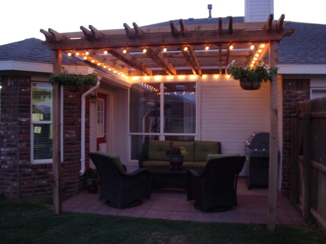 Pergola with Lights - 9 Best Images About Pergola On Pinterest Mondays, Patio And Snow