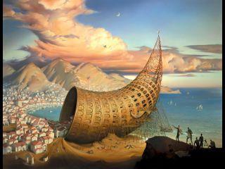 Vladimir Kush - «Horn of Babel».jpg