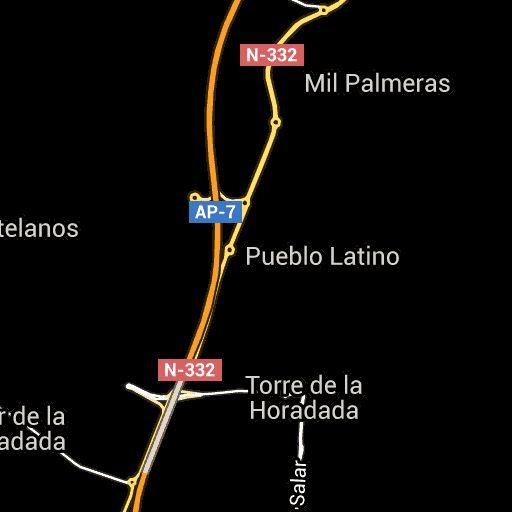 Wikiloc - route Mil Palmeras - Rio Seco (Wandern) - Dehesa de Campoamor, Valencia (España)- GPS track