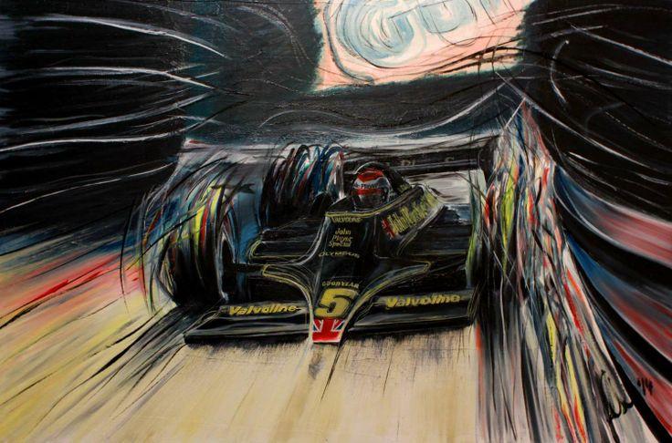 Mario Andretti, Monza 1978, Lotus 79. #originalart www.motorart27.com #originalart #F1art #motorsportart #racingart #LotusF1 #Lotus79 #Monza #RonniePeterson #Cosworth #Ford #WorldChampion #oiloncanvas #TeamUSAScholarship #NeilAlberico #jeremyshaw #Mario #Andretti #Lotus #racing #FormulaOne #Formula1 #racingart #CarsDesign #GillesVilleneuve #RacingPaintings #Posts #MotorsRacing #F1Artworks