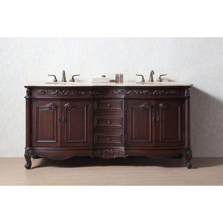 bathroom cabinet online design tool%0A Stufurhome    inch Saturn Double Sink Bathroom Vanity