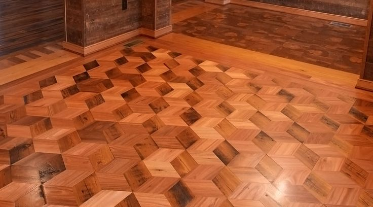Lyptus Rhombus Pattern Floor This Would Look Cool As A