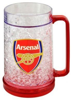 Arsenal FC Freezer Tankard by Arsenal. $15.98. If you like your beer ice cold then thisofficialArsenal FC freezer glass will definately make your beer taste better..!! 100% officialArsenal FC product which is ideal for all Gooner
