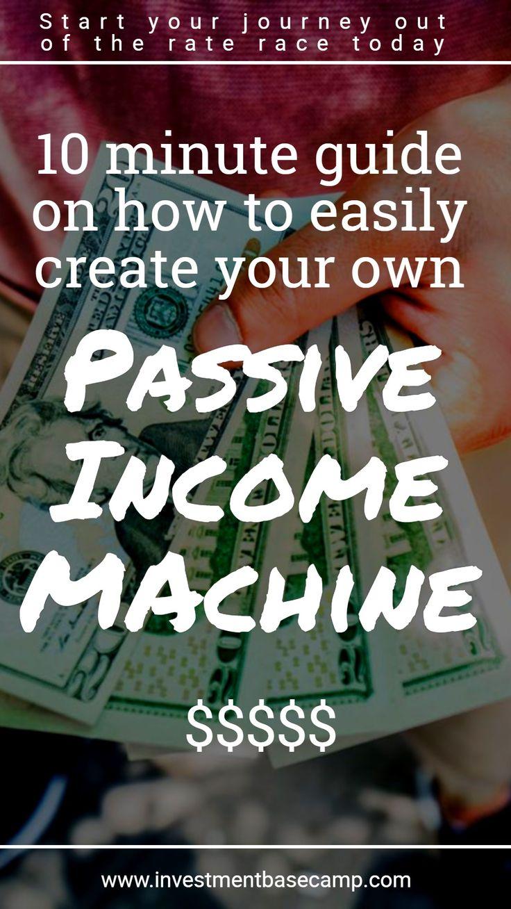 Wie baue ich meine eigene MACHINE für passives Einkommen?   – Investment Base Camp