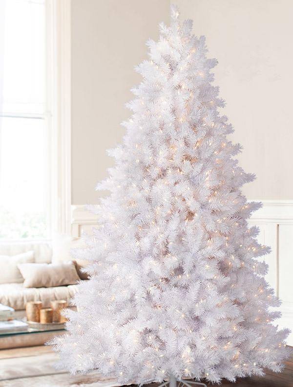 Top 40 Gorgeous White Christmas Tree Decorations Christmas Celebrations