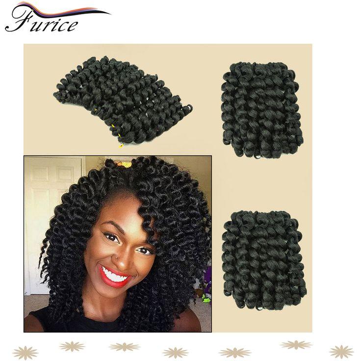 "Kanekalon Braiding Hair Colors 8"" Wand Curl Crochet Hair Extensions 20 Strands/Pack Wand Curl Crochet Hair Extension Cheap Braid"