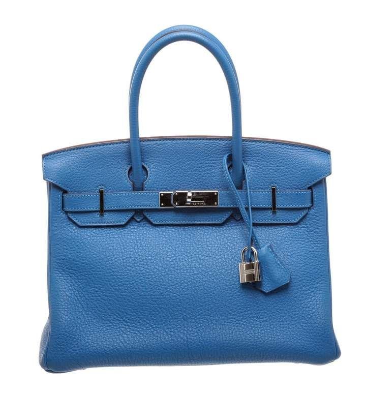 54fb764216e8 Hermes Birkin 30 leather handbag
