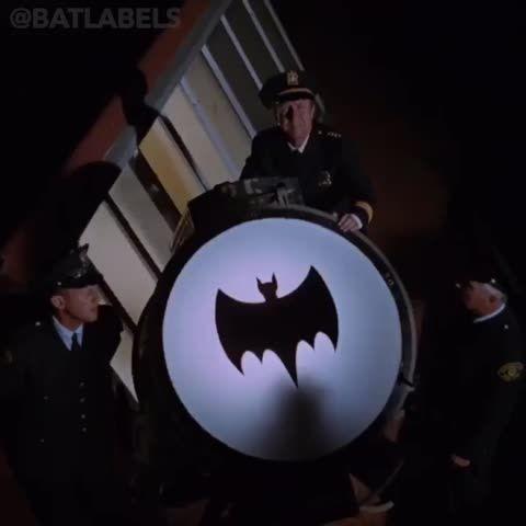 'BAT SIGNAL' on 'Batman TV Series' (1966–1968)