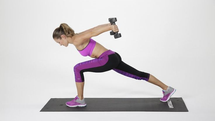 5-Minute Jiggle Tamer For Your Triceps: This targeted workout is aimed at your triceps.