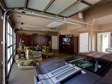 Entertaineru0027s Dream Garage   Modern   Garage And Shed   Los Angeles   Garage  Envy Part 74