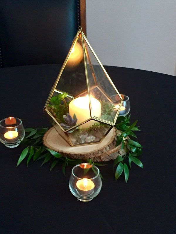 Wedding DIY We Love: Easy Terrarium Centerpiece