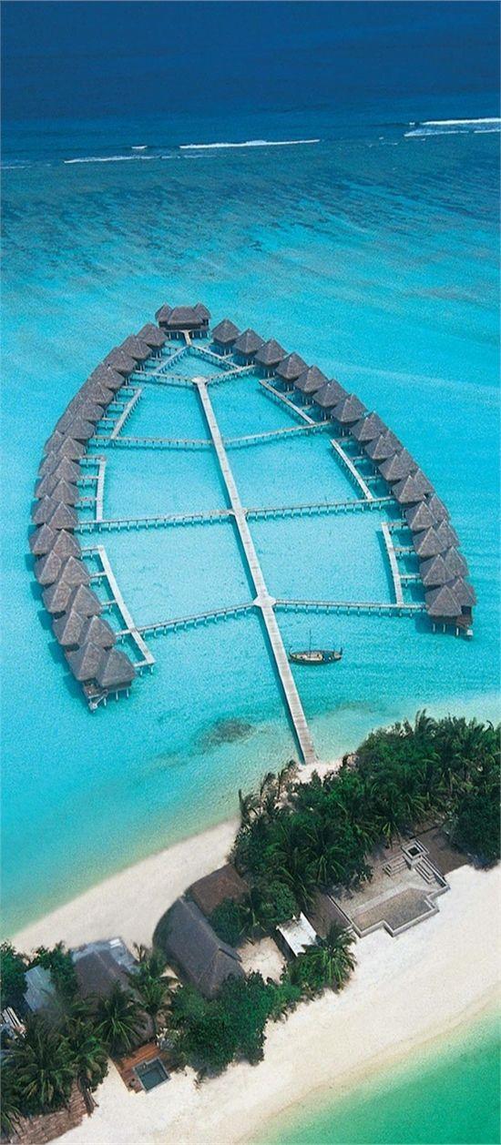 The Amazing Beach Island - Maldives.