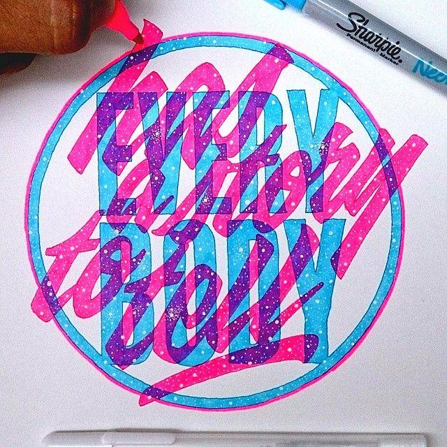 #type #typografi #typespire #typehype #typegang #sketching #drawing #sharpieart…