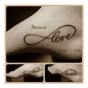 Infinity Love -- if I ever decide to do the tattoo thing