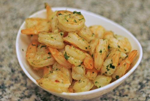 Sauteed Garlic Shrimp: Simply delicious.