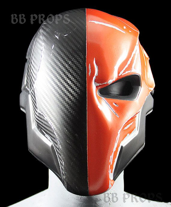 Arkham Origins Style Deathstroke Mask by BBprops on Etsy