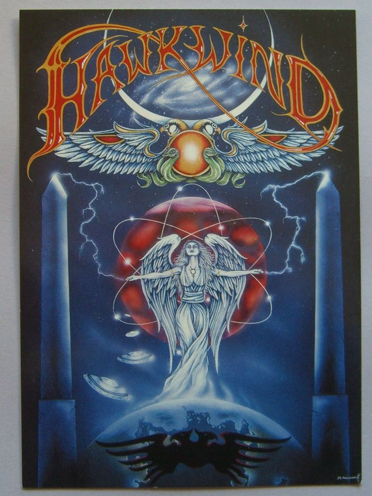 Hawkwind poster 'Spaced Out In London' 2007