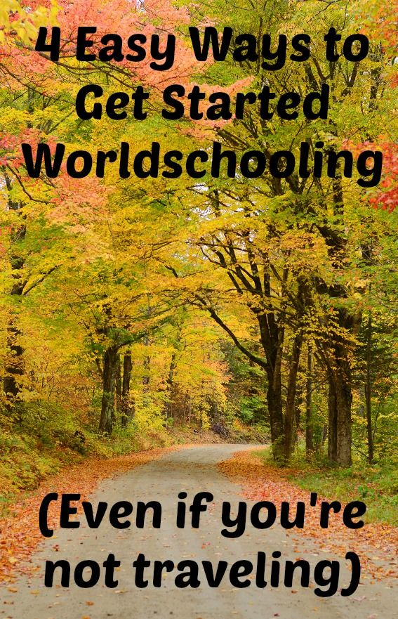 Worldschooling and travel go hand in hand. Like homeschooling and even unschooling, worldschooling (also sometimes called roadschooling), is education that is influenced by the child, directed by the parent, and entirely based on what's happening in the world around you.