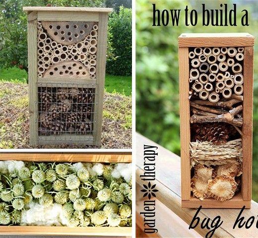 Vysněná zahrada: Hmyzí domečky – druhý level