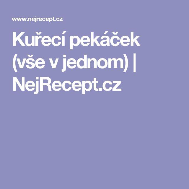 Kuřecí pekáček (vše v jednom) | NejRecept.cz