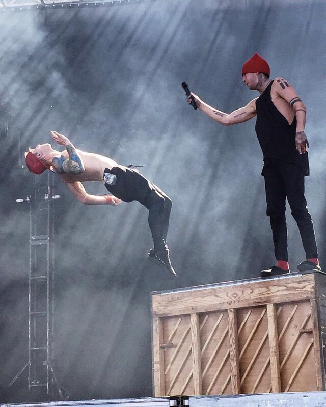Tyler Joseph and Josh Dun | twenty one pilots