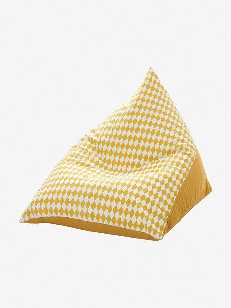 pouf personnalisable poire jaune bebe pouf enfant. Black Bedroom Furniture Sets. Home Design Ideas