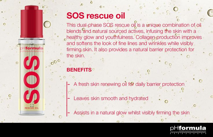 SOS Rescue Oil - One of the most innovative anti-ageing formulations we have seen to date! http://phformula.com/products/sos-oil/  #SOS #antiaging #skincareroutine #skincare