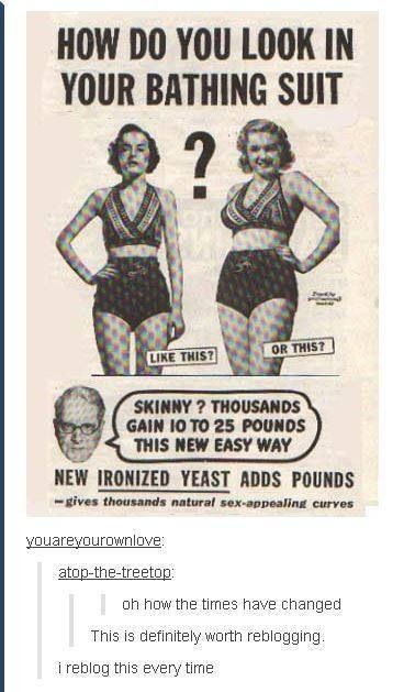 feminism, tumblr, feminist, body image Constant policing of women's bodies. We are just never the write size.