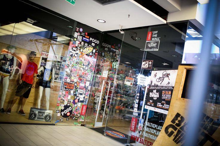 Baltic Place - skateshop, warsztaty, pokazy filmowe