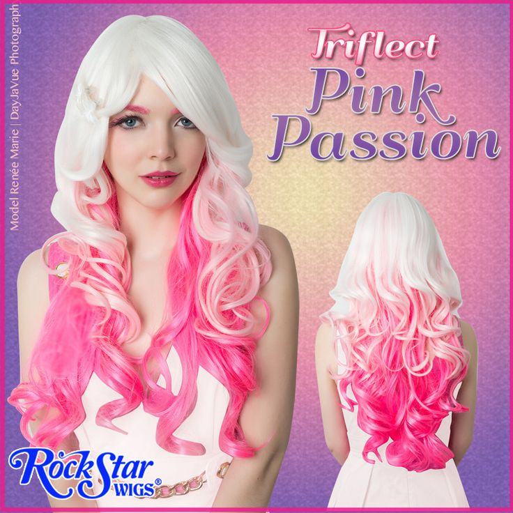 23 best hair extensions wigs etc images on pinterest make up rockstar wigs triflect in pink passion pmusecretfo Images