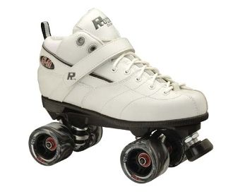 Rock GT-50 White  The GT-50 is just a great all-around skate. This comfortable skate has a little extra room for those with wider feet, and its padding makes it comfortable for everyone. http://shop.rollwithitct.com/Rock-GT-50-White-SESRGT5W.htm