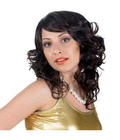 Περούκα Gilda μαύρη