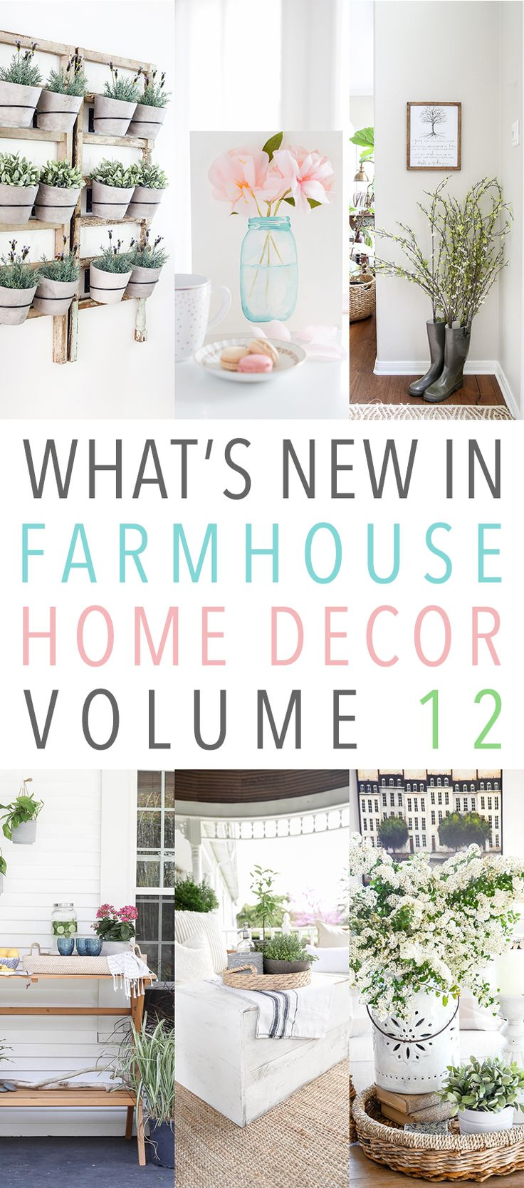 What s new in farmhouse home decor volume 12 for Home decor on highway 6