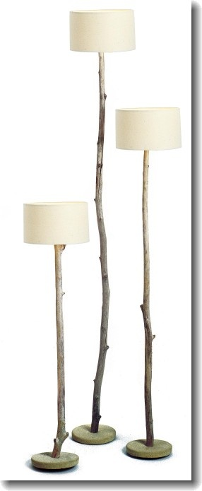 Tree Lamp! I love!    -Tropique lamps by Blue Nature