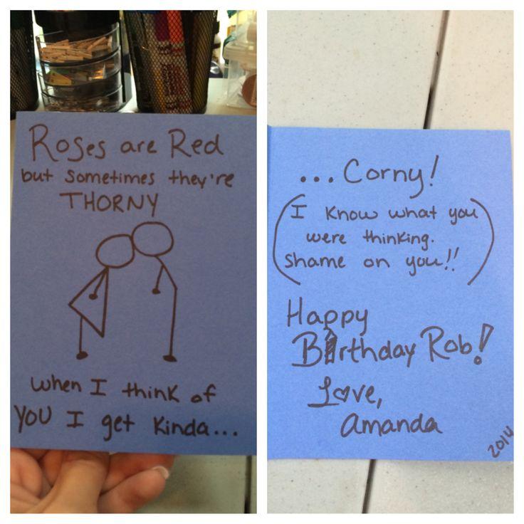 Husbands Birthday Card DIY