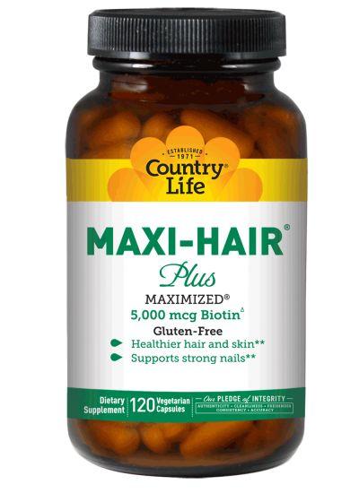 Maxi-Hair® Plus | Country Life Vitamins