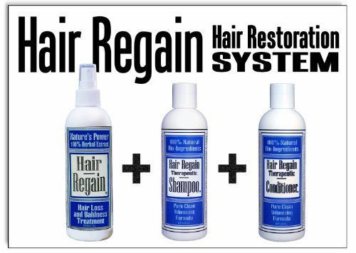 Introducing Hair Regain Hair Regrowth System  Growth Accelerator Hair Loss Shampoo and Volumizing Conditioner  No Minoxidil. Get Your Ladies Products Here and follow us for more updates!