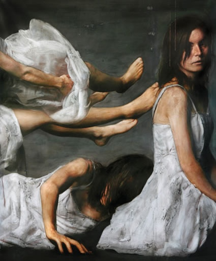 Per Fronth works with photography as his raw-material, creating photography as paintings; with representation of reality through the medium photography as only one of his works components, making his art a unique voice in contemporary art.