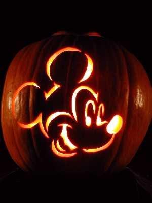*MICKEY pumpkin stencil