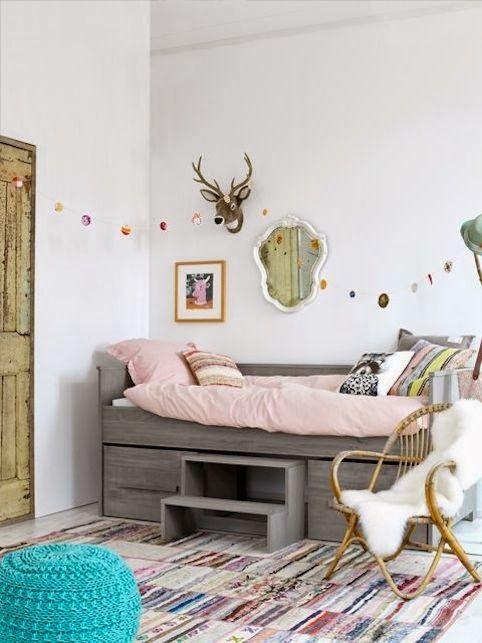 home inspiration: 18 SUPER-DUPER CUTE KIDS ROOMS   www.bellamumma.com