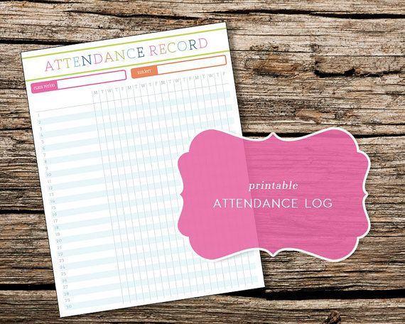 Best 25+ Classroom attendance ideas on Pinterest Attendance - attendance list