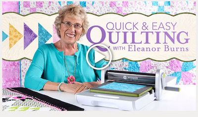 Eleanor Burns Saved by an AccuQuilt GO Fabric Cutter - Heirloom Creations