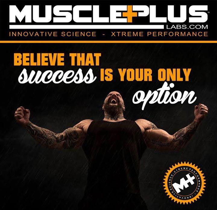 Believe It!  #believe #trainhard #workout #musclepluslabs #fitspo #protein #success #fitness #muscle #build #befit