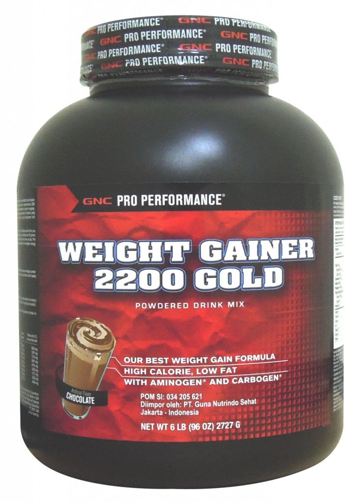 GNC Weight Gainer 2200 @ Chocolate (6 lbs) | Best ...