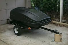 Harbor Freight Motorcycle Trailer
