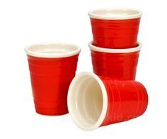 Solo cup shot glasses add to look