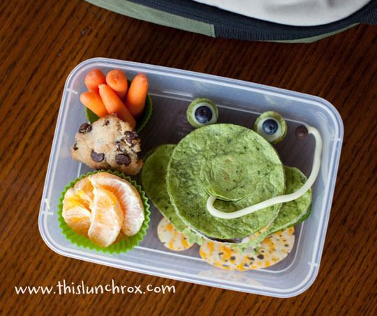 awesome kid lunchesFun Lunches, Back To Schools, Kids Lunches, For Kids, Food, Schools Lunches, Frogs Lunches, Lunches Boxes, Lunches Ideas