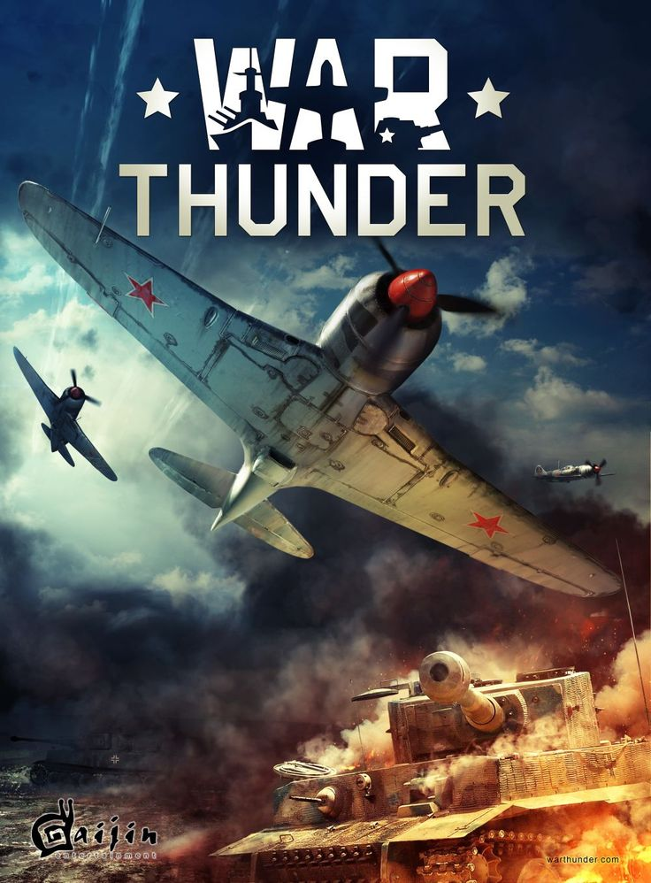 In my spare time I will play War Thunder with my cousin, just like I do now.